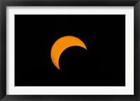 Framed Partial Solar Eclipse (2012)