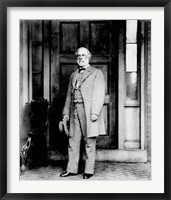 Framed General Robert E Lee Standing