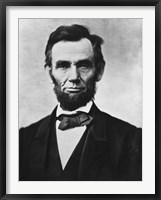 Framed Civil War era Vector Photo of President Abraham Lincoln