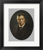 Framed President Theodore Roosevelt