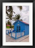 Framed Bahamas, Eleuthera, Princess Cays, beach bungalow
