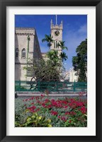 Framed Government House, Bridgetown, Barbados, Caribbean