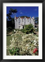 Framed St Nicholas Abbey, St Peter Parish, Barbados, Caribbean