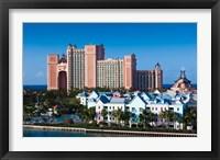 Framed Atlantis Hotel , Bahamas