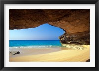 Framed Cave at French Bay, San Salvador Island, Bahamas
