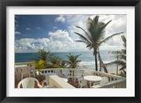 Framed View of Soup Bowl Beach, Bathsheba, Barbados, Caribbean