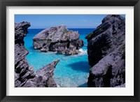 Framed Beach on South Coast, Bermuda, Caribbean
