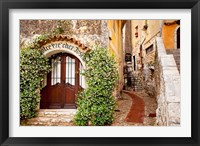 Framed Jasmine covered entryway, Eze, Provence, France
