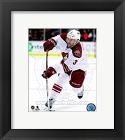 Framed Keith Yandle with the puck 2014-15