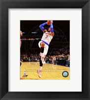 Framed Carmelo Anthony shooting 2014-15