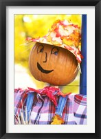 Framed WA, Chelan, Halloween holiday Scarecrow
