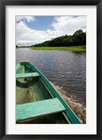 Framed Dugout canoe, Arasa River, Amazon, Brazil