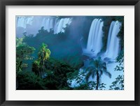 Framed Iguacu National Park, Parana State, Iguacu Falls, Brazil