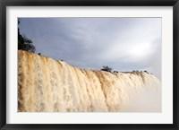 Framed Iguassu Falls, Brazil