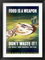 Framed Food Is A Weapon