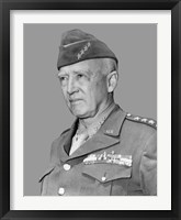 Framed General George Smith Patton
