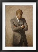 Framed John F Kennedy