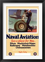 Framed Naval Aviation has a Place for You
