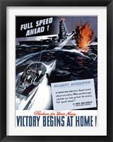 Framed Victory Begins at Home