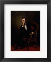 Framed Abraham Lincoln