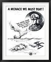 Framed Menace We Must Beat!