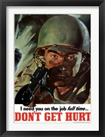 Framed Don't Get Hurt