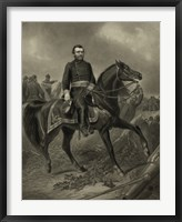 Framed General Grant during the American Civil War