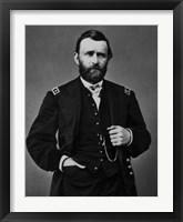 Framed General Ulysses S Grant (standing portrait)