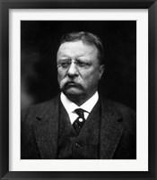 Framed Portrait of Theodore Roosevelt