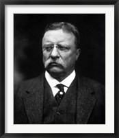 Framed Portrait of Theodore Roosevelt