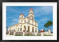 Framed Santiago, Cuba, Basilica El Cabre, Church steeple