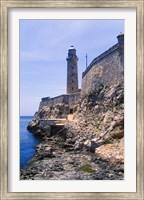 Framed El Morro Fortress, La Havana, Cuba