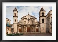 Framed Cuba, Havana, Catedral de San Cristobal