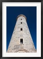 Framed Cuba, Havana, Morro Castle lighthouse
