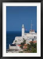 Framed Cuba, Havana, Morro Castle, Fortification