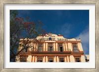 Framed Cuba, Havana, Partagas cigar factory