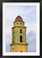 Framed San Francisco de Asis, Convent, Church, Trinidad, UNESCO World Heritage site, Cuba