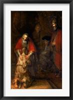 Framed Return of the Prodigal Son, c.1668