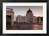 Framed Cuba, Cienfuegos, Palacio de Gobierno, Dusk