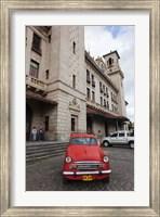 Framed Cuba, Havana, Central Train Station