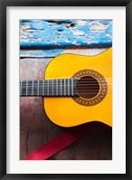 Framed Cuba, Sancti Spiritus, Trinidad, Cuban guitar