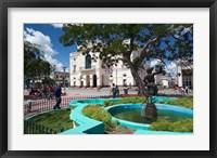Framed Cuba, Santa Clara, Parque Vidal, Teatro La Caridad