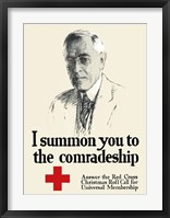 Framed I Summon You to the Comradeship