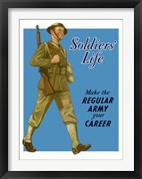 Framed Soldiers' Life