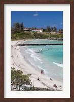 Framed Cuba, Havana, Playas del Este, Playa Jibacoa beach