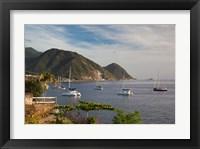 Framed Dominica, Roseau, coastlines