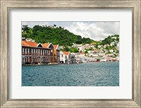 Framed Grenada, St George, Carenage, Residential area