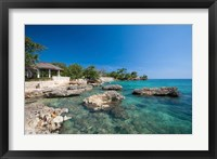 Framed Bluefields, Jamaica Southwest Coast