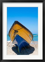 Framed Fishing Boats, Treasure Beach, Jamaica South Coast