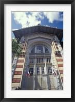 Framed Biblioteque Schoekher, Fort De  Martinique, Caribbean